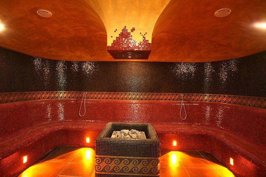 calidarium o sauna romana